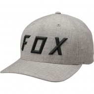 OFFER FOX SONIC MOTH FLEXFIT HAT HEATHER GREY