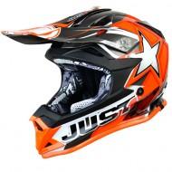 JUST1 J32 MOTO X KIDS HELMET ORANGE
