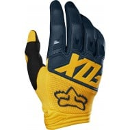 OUTLET GUANTES FOX DIRTPAW 2019 COLOR AZUL MARINO / AMARILLO