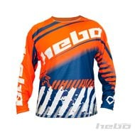 HEBO END-CROSS STRATOS JERSEY COLOR ORANGE