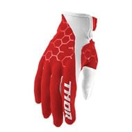 OUTLET GUANTES THOR DRAFT 2020 COLOR ROJO / BLANCO