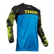 OUTLET CAMISETA THOR PULSE AIR ACID S9 OFFROAD 2019 AZUL