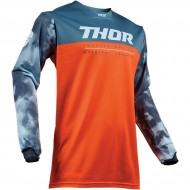 OUTLET CAMISETA INFANTIL THOR PULSE AIR ACID S9Y OFFROAD 2019