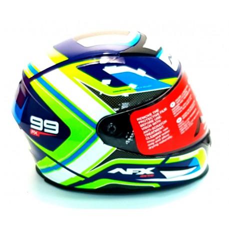 Large, Matte Black AFX FX-99 Full Face Helmet