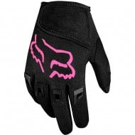 FOX KIDS (4-5 YEARS) DIRTPAW GLOVES COLOR BLACK/PINK