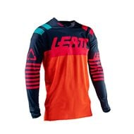 CAMISETA INFANTIL LEATT GPX 3.5 2019 COLOR NEGRO / LIMA