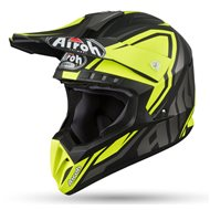 OFF ROAD HELMET AIROH TWIST 2019 COLOR WHITE GLOSS