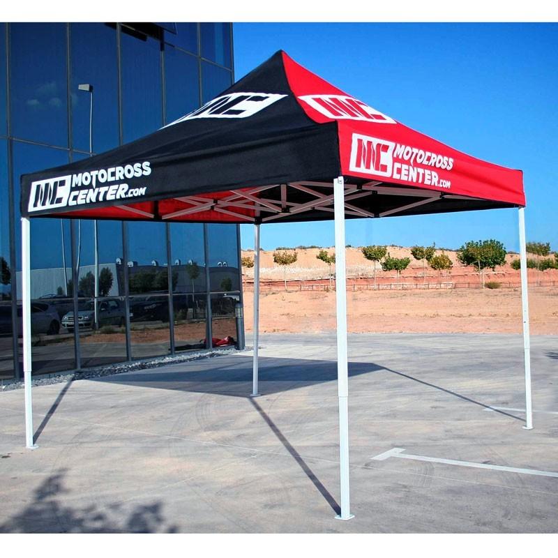 Oferta carpa reforzada motocrosscenter 3x3 plegable - Oferta carpas plegables ...