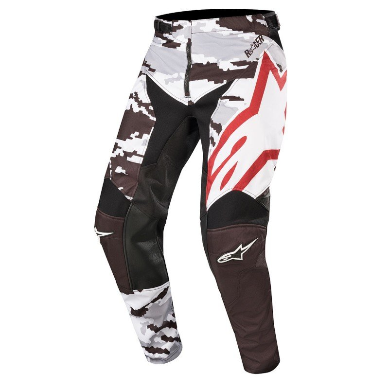Alpinestars Racer Tactical Pants 2019 Color Black Gris Camo