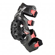 ALPINESTARS BIONIC 10 CARBON KNEE BRACE - RIGHT 2020 BLACK / RED COLOUR