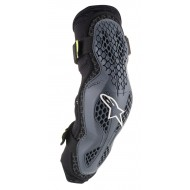 ALPINESTARS SEQUENCE ELBOW PROTECTOR 2021 COLOR ANTHRACITE / YELLOW FLUO