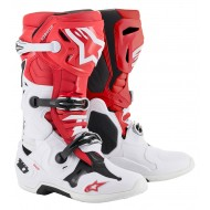 BOTAS ALPINESTARS TECH 10 2019 COLOR ROJO / BLANCO / NEGRO