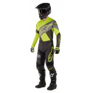 OFFER COMBO ALPINESTARS RACER TECH ATOMIC 2019 COLOR BLACK / YELLOW FLUO / GRAY