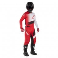 OFFER COMBO ALPINESTARS RACER SUPERMATIC 2019 COLOR RED / BLACK / WHITE