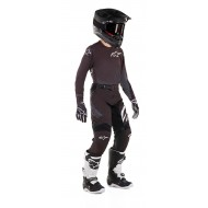 OFFER YOUTH COMBO ALPINESTARS RACER GRAPHITE 2019 COLOR BLACK / ANTHRACITE