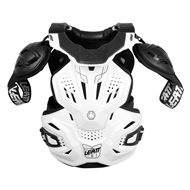 LEATT FUSION 3.0 FULL CHEST PROTECTOR AND NECK BRACE 2021 WHITE COLOUR