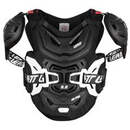 PETO LEATT BRACE 5.5 PRO HD 2021 COLOR NEGRO - TALLA ADULTO