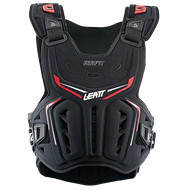 OFFER LEATT 3DF AIRFIT CHEEST PROTECTOR 2021 BLACK / RED COLOUR