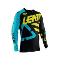 OUTLET CAMISETA LEATT GPX 5.5 ULTRAWELD 2019 COLOR NEGRO / LIMA