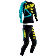 OUTLET COMBO LEATT GPX 5.5 2019 COLOR NEGRO / LIMA