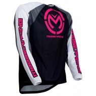 CAMISETA MOOSE M1 2019 COLOR NEGRO / PINK