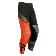PANTALON INFANTIL MOOSE 2019 COLOR NEGRO / NARANJA