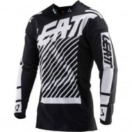 OUTLET YOUTH LEATT GPX 2.5 JERSEY WHITE/BLACK