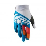 OUTLET GUANTES LEATT GPX 3.5 JUNIOR AZUL/BLANCO