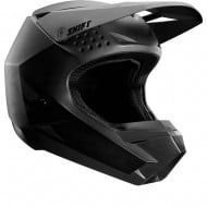 SHIFT YOUTH HELMET WITH3 LABEL 2020 COLOR MATE BLACK