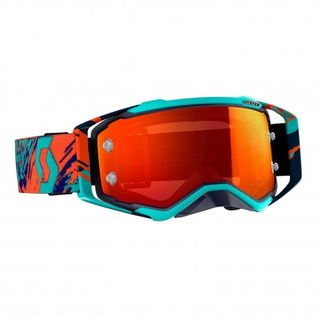 OUTLET GAFAS SCOTT PROSPECT 2019 COLOR AZUL / NARANJA - LENTE NARANJA CHROME WORKS