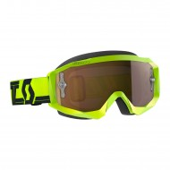 GAFAS SCOTT HUSTLE X MX 2019 COLOR AMARILLO / NEGRO - LENTE