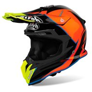 CASCO AIROH TERMINATOR OPEN VISION SLIDER 2019 COLOR AZUR BRILLANTE