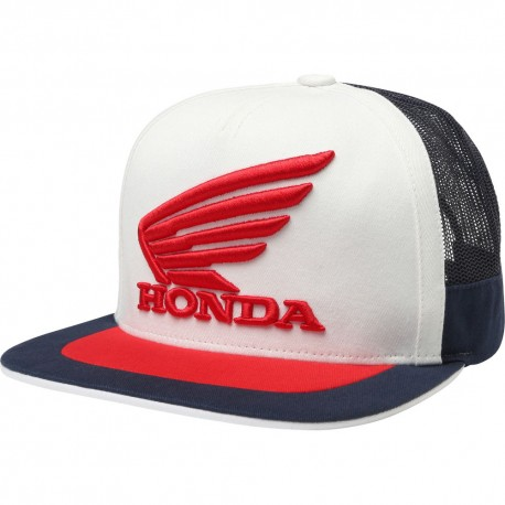 reputable site 0467c 6a92b OFFER FOX HONDA SNAPBACK HAT NAVY WHITE