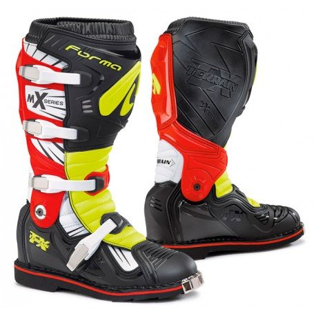 FORMA BOOTS TERRAIN TX RED / FLUO