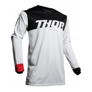 OFFER THOR PULSE AIR FACTOR JERSEY 2020 WHITE / RED COLOUR