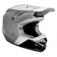 CASCO INFANTIL THOR SECTOR BOMBER 2020 COLOR CARBÓN / BLANCO