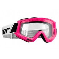 THOR YOUTH COMBAT GOGGLES 2021 PINK FLUO COLOUR