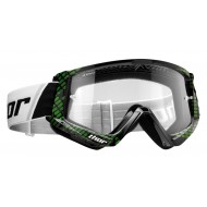 THOR YOUTH COMBAT CAP GOGGLES 2021 BLACK / LIME COLOUR
