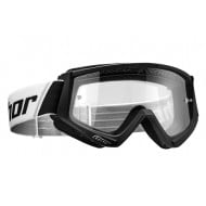 THOR YOUTH COMBAT GOGGLES BLACK / WHITE COLOUR
