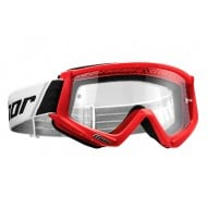 THOR YOUTH COMBAT GOGGLES 2021 RED / BLACK COLOUR