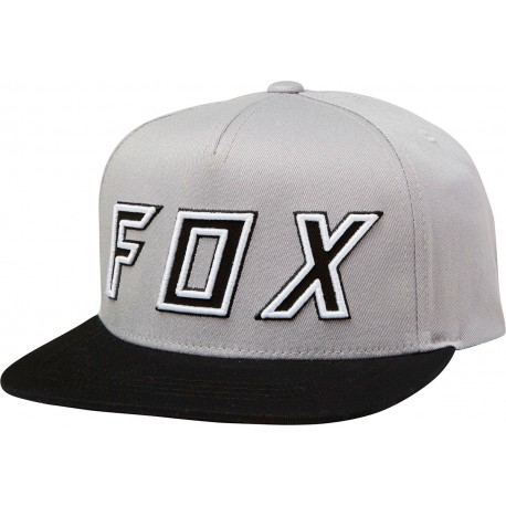 low priced d2210 cb97b FOX HONDA SNAPBACK HAT GREY BLACK COLOUR