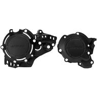 ACERBIS IGNITION + CLUTCH COVER PROTECTOR BLACK KTM SX 250 (2017-2018)