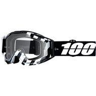 MOTOCROSS GOGGLE 100% RACECRAFT ANDRE CLEAR LENS