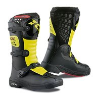 OFFER BOOTS TCX YOUTH COMP-KID ROYAL BLUE/YELLOW FLUO