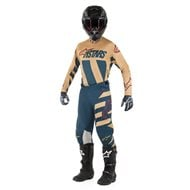 OFFER COMBO ALPINESTARS RACER BRAAP 2019 ANTHRACITE / ORANGE FLUO / SAND COLOUR - SIZE 30 USA / S