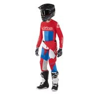 OUTLET COMBO ALPINESTARS RACER BRAAP 2019 COLOR GASOLINA / BRONCE / GRANATE - TALLA 36 USA / XL