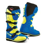 BOTAS TCX COMP EVO 2 MICHELIN COLOR AZUL REAL / AMARILLO FLUOR