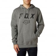 SUDADERA FOX LEGACY MOTH COLOR GRAFITO JASPEADO