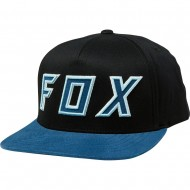 OUTLET GORRA FOX POSESSED COLOR NEGRO / AZUL MARINO