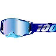 100% ARMEGA ROYAL GOOGLE - MIRROR BLUE LENS